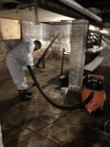 sewage backup cleaning and removal
